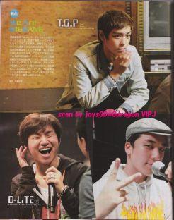 BIGBANG on Weekly Women's Seven Magazine8.11